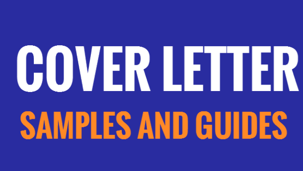 Guides on how how to write cover letters and samples