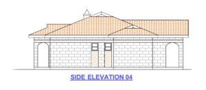 3 bedroom house plan in kenya elevation