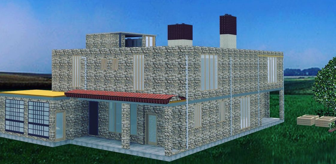 Best mansion house plan in kenya designed by certified for Structural engineer for houses