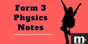 Form three physics notes