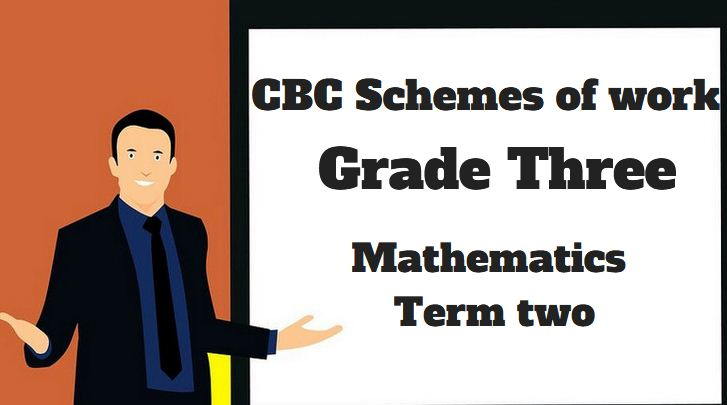 Mathematics Term Two, Grade three CBC Schemes of work (New ...