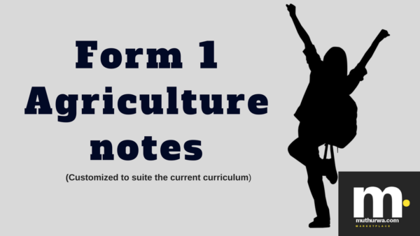 download form one agriculture notes in kenya syllabus