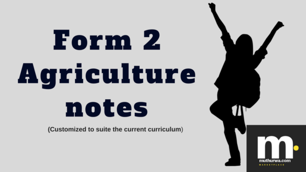 download form two agriculture notes in kenya syllabus