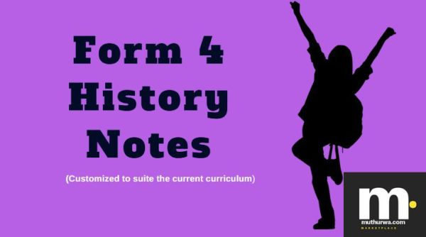 form four history notes for revisions