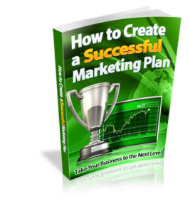 How To Create A Successful Marketing Plan (eBook)